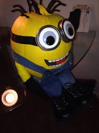 Minion Pumpkin Carvings by Awesome No Carve Pumpkin Ideas For Your Kids