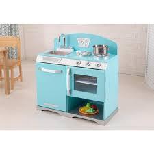 cuisine enfant kidkraft kidkraft cuisine enfant réchaud bleu retro 53252