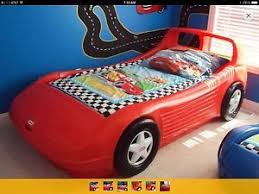 Little Tikes Lightning Mcqueen Bed by Little Tikes Blue Race Car Bed Crib Toddler Bed Size