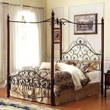 bed frame leg extender image of iron canopy bed king size