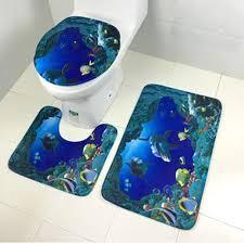 us 3 41 25 3 teile satz moderne design bad bad matte set wc teppiche flanell anti slip badezimmer teppiche hause wc deckel abdeckung boden