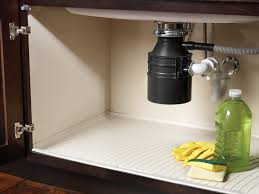 Under Sink Mat Drip Tray by Kitchen And Residential Design Something New Under The Sink