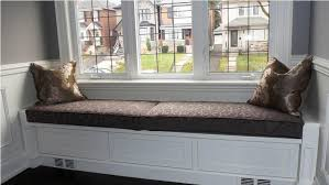 build window seat storage bench cozy and modern window seat