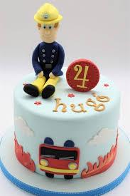 your cake designer in brussels fireman cake fireman sam