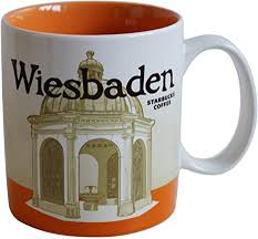 starbucks city mug wiesbaden germany icon serie coffee cup