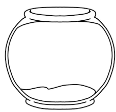 Blank Fishbowl Placemat So Many Activities You Can Do With One
