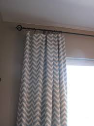 Gray Chevron Curtains Living Room by Little Miss Penny Wenny Chevron Curtains And A Living Room Update