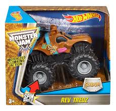 Amazon.com: Hot Wheels Monster Jam Rev Tredz Scooby Vehicle (1:43 ... Monster Jam Ticket Giveaway Phoenix January 24 2015 Brie Stealth Blaze And The Machines Die Cast Hot Wheels 164 Anniversary Vehicle Toy At Mighty Monster Jam 124 Scale Nea Police Uncle Petes Toys Hotwheels Truck 68501 Brutus Diecast Walmartcom Scbydoo 2017 Scooby Doo With Team Flag Model Car Pinterest Wheelsreg Jamreg Assorted Target Julians Blog Earth Shaker New For Hotwheels Mattel Juguetes Puppen