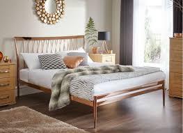 Blake Copper Metal Bed Frame