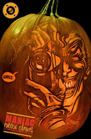 Joker Pumpkin Carving by Maniac Pumpkin Carvers Professional Pumpkin Carving Etched