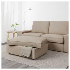 Ikea Kivik Sofa Covers Uk by Kivik Footstool With Storage Hillared Beige Ikea