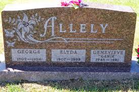 Elyda Belle Kennedy Allely 1907 1999 Find A Grave Memorial