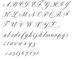 Luxury Alphabet Letters In Fancy Cursive Letter Master