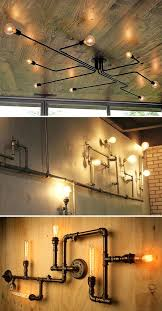 Pipe Furniture Diy Chair Couch Lighting Plumbing Light Fixture Materials Collage 2 How To Make 23 Awesome Designs