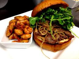 Burgers and Beer at Next Door Food and Drink Loveland Restaurant