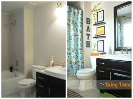 Boy Bathroom Before And After Nautical Decorating Ideas