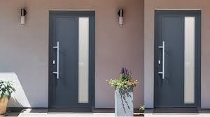 porte d entrée design porte contemporaine en pvc ou en alu openb