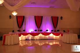 Head Table Balloon Decorations Quinceanera Main
