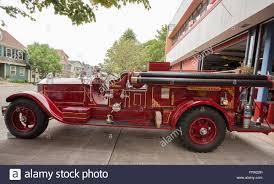 100 Antique Fire Truck Charlottetown PEI SEPTEMBER 2 2013 A 1929 Vintage