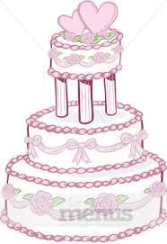 Designer Wedding Cake Clipart