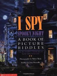 Scary Halloween Riddles And Answers by I Spy Spooky Night A Book Of Picture Riddles By Jean Marzollo