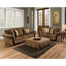 American Furniture Manufacturing Sofas Cornell Chestnut Sofa