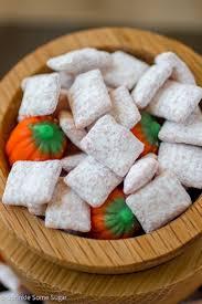 Pumpkin Spice Chex Mix by Pumpkin Spice Muddy Buddies Sprinkle Some Sugar