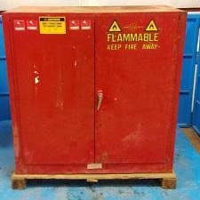 Justrite Flammable Cabinet 45 Gallon by Safety Storage Cabinet Ebay