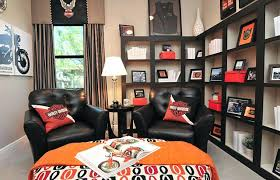 Lovely Harley Davidson Home Decor Decorating Ideas Room Eclectic Office Garage