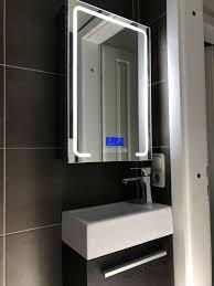 led spiegelschrank 70x50 beleuchtung bluetooth radio