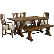 Broyhill Furniture Pieceworks Trestle Table And Upholstered ... Legacy Classic Larkspur Trestle Table Ding Set Farmhouse Reimagined Rectangular W Upholstered Amazoncom Cambridge Ellington Expandable 6 Arlington House With 4 Chairs Ding Table And Upholstered Chairs Magewebincom Liberty Fniture Harbor View Ii With Chair In Linen Middle Ages Britannica 85 Best Room Decorating Ideas Country Decor Cheap And Find