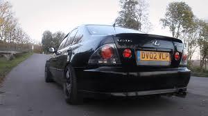 Lexus IS200 Megan Racing Axle Back Exhaust sound