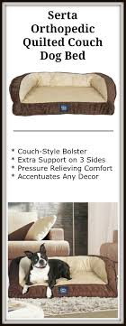 serta orthopedic pillowtop dog bed review easing arthritis for