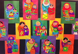 Matryoshka Doll Art Lesson