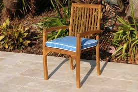Outdoor Furniture Cushions Sunbrella Fabric by Sale Sunbrella Fabric Hampton Chair Cushion Pad Oceanic Teak