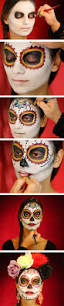 Halloween Half Mask Makeup by 25 Super Cool Step By Step Makeup Tutorials For Halloween Hative