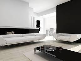 moderne zeitgenössische schwarz weiß wohnzimmer innenraum