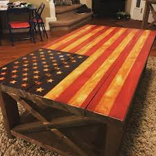Ana White Rustic Headboard by Ana White American Flag Rustic X Table Diy Projects