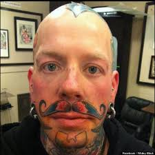Ever Wonder Why People Get Face Tattoos Heres The Answer From 9