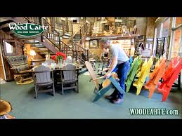 Polywood Folding Adirondack Chairs by How To Unfold Your Polywood Folding Adirondack Chair Youtube