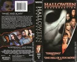 Wnuf Halloween Special Imdb by The Horrors Of Halloween Halloween Resurrection 2002 Vhs Dvd