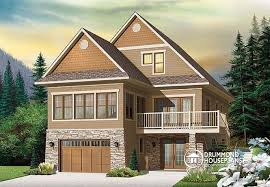 The Mountain View House Plans by House Plan W4916 V1 Detail From Drummondhouseplans