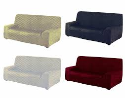 3 Seat Sofa Cover by Easy Fit Sofa Cover Elastic Stretch Slip Cover Throw Burgundy 2