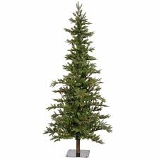 6ft Slim Christmas Tree With Lights by Christmas 6ft Pre Lit Slim Christmas Tree Walmartificial Trees