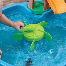Step2 Rain Showers Splash Pond by Step2 Duck Pond Water Table With Water Toys Walmart Com