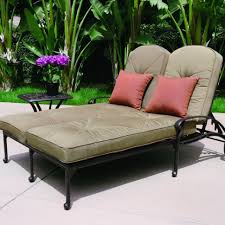 Terry Cloth Lounge Chair Covers With Pillow by Chaise Lounge Doublee Lounge Outdoor Furniture Cushion Patio