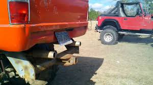 87 Toyota Mud Truck Running 44