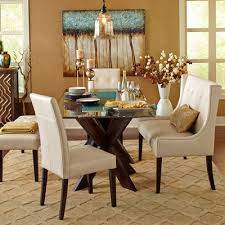dining room tables neat rustic dining table expandable round