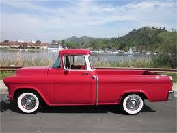 1956 Chevrolet Cameo Pickup   Truck - Chevy Post 1955   Pinterest ...