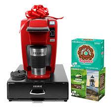 Keurig K15 Single Serve Coffee Maker Holiday Bundle With 36 K Cup Pods